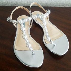 Pearl Betsey Johnson Dressy Sandals
